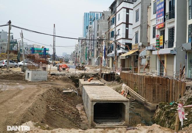 Hà Nội: Toàn cảnh công trường đường vành đai 2 đoạn Minh Khai – Đại La - 12