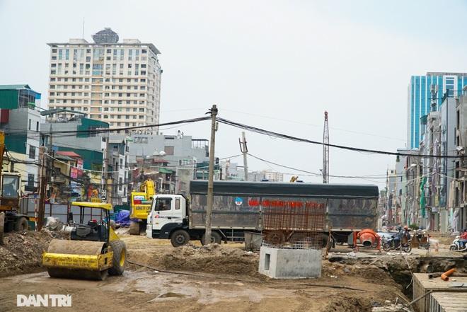 Hà Nội: Toàn cảnh công trường đường vành đai 2 đoạn Minh Khai – Đại La - 15