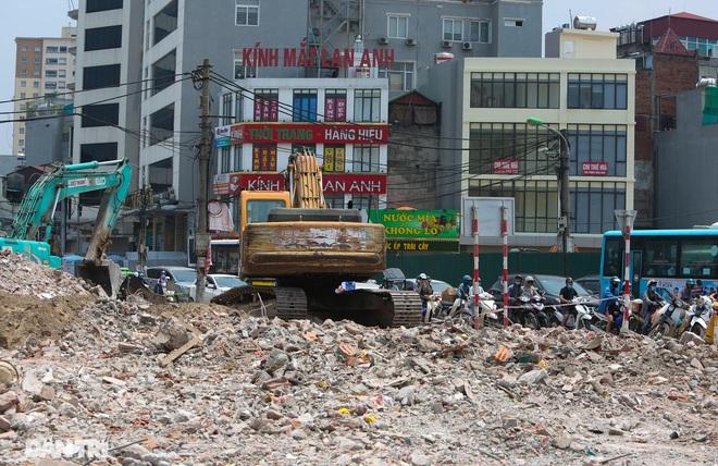 Hà Nội: Toàn cảnh công trường đường vành đai 2 đoạn Minh Khai – Đại La - 10