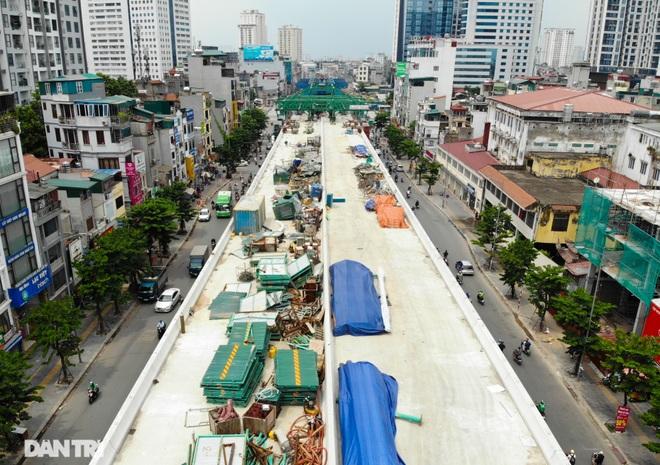 Hà Nội: Toàn cảnh công trường đường vành đai 2 đoạn Minh Khai – Đại La - 14