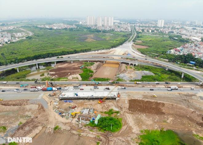 Đại công trường 400 tỷ đồng nối cao tốc Hà Nội - Hải Phòng và đường Cổ Linh - 3