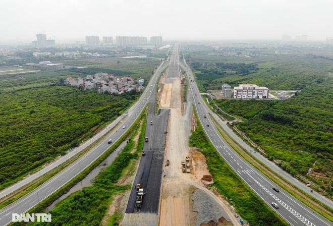 Đại công trường 400 tỷ đồng nối cao tốc Hà Nội - Hải Phòng và đường Cổ Linh - 2