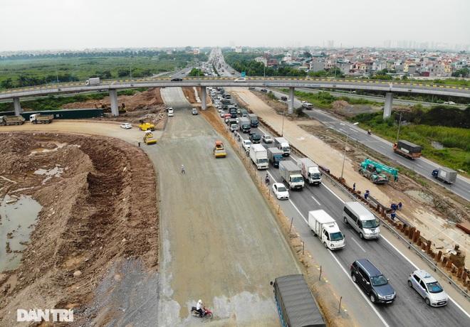 Đại công trường 400 tỷ đồng nối cao tốc Hà Nội - Hải Phòng và đường Cổ Linh - 18
