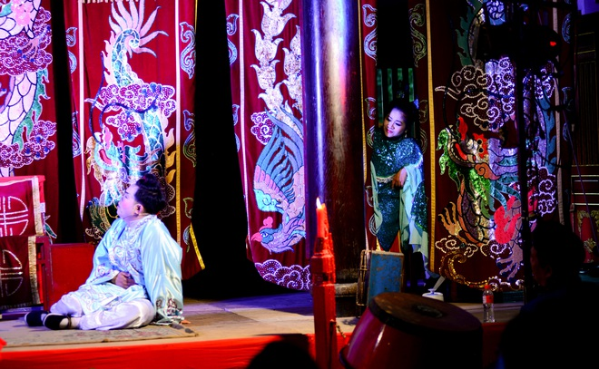 Hình ảnh cuộc sống những nghệ sĩ nặng lòng với nghề hát bội ở Sài Gòn - 3