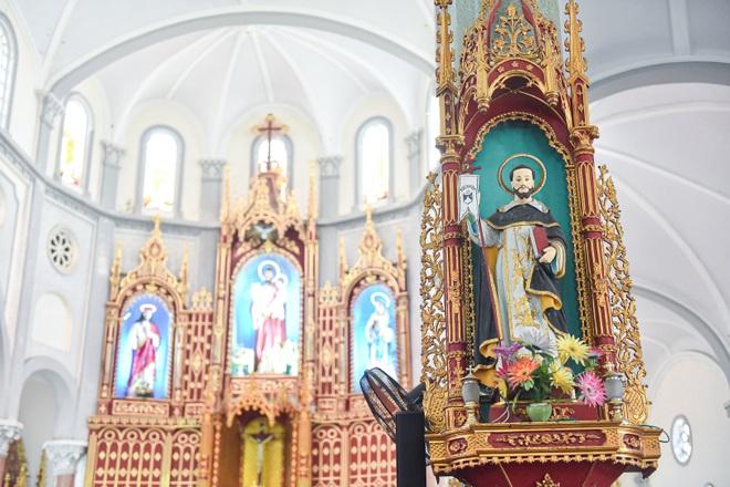 Đền Thánh Sa Châu - nhà thờ Nam Định đẹp uy nghi như ở trời Âu - 4