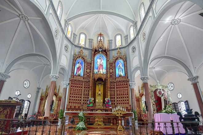 Đền Thánh Sa Châu - nhà thờ Nam Định đẹp uy nghi như ở trời Âu - 9
