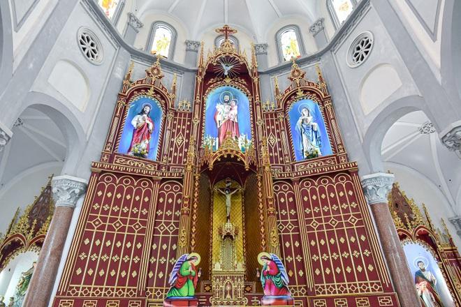 Đền Thánh Sa Châu - nhà thờ Nam Định đẹp uy nghi như ở trời Âu - 3