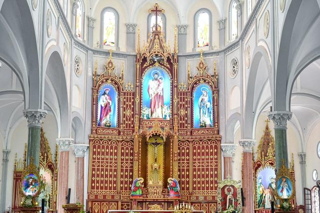 Đền Thánh Sa Châu - nhà thờ Nam Định đẹp uy nghi như ở trời Âu - 8