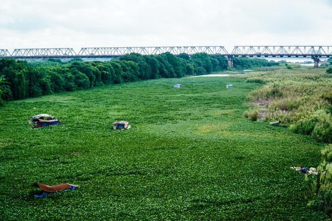 Cảnh hồ thủy điện xả lũ lớn, nước cuộn sóng nhấn chìm bãi giữa sông Hồng - 4