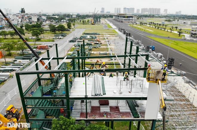 Hà Nội: Tiếp tục tháo dỡ khán đài đường đua F1 - 10