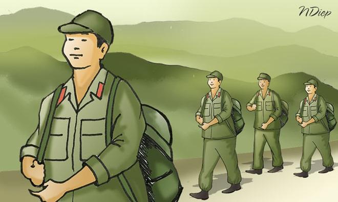 Bộ đội chiến đấu và cống hiến ở thời bình - 1