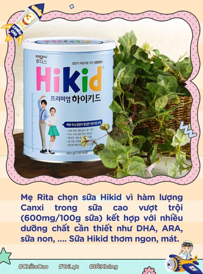 Học cách mẹ Rita Trần nuôi con cao vượt chuẩn 10 cm với Hikid - 3