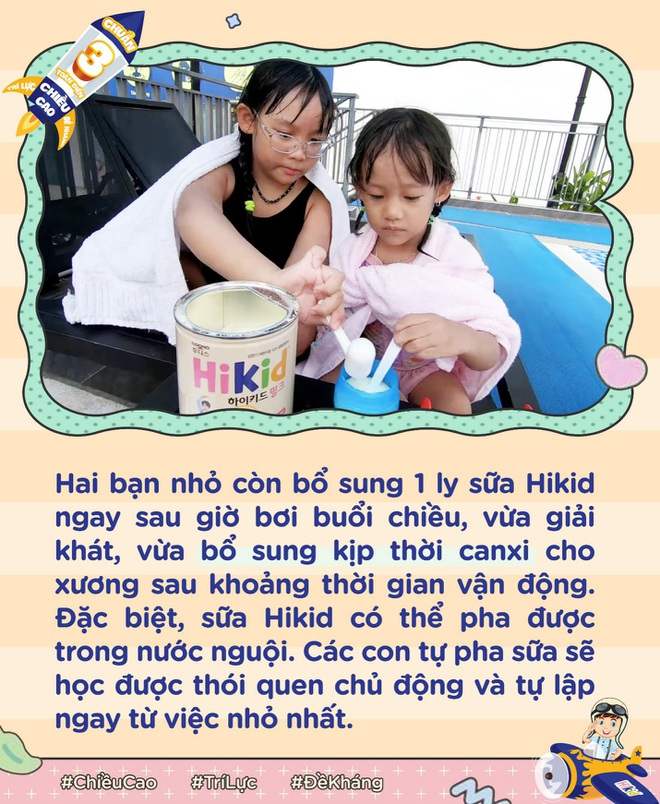 Học cách mẹ Rita Trần nuôi con cao vượt chuẩn 10 cm với Hikid - 4