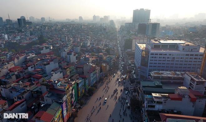 Cảnh giao thông đối lập ở đường Trường Chinh sau 3 năm - 4