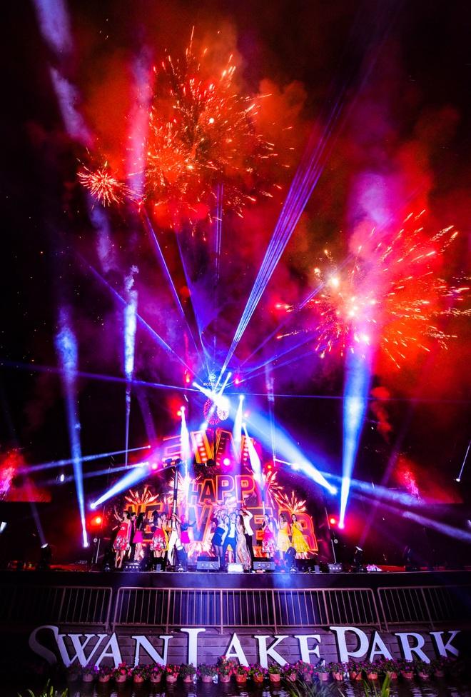 Bữa đại tiệc âm nhạc hoành tráng đón năm mới 2021 của cư dân Ecopark - 20