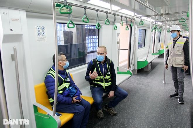 Tiết lộ đầu tiên về kết quả chạy thử nghiệm đường sắt Cát Linh - Hà Đông - 4