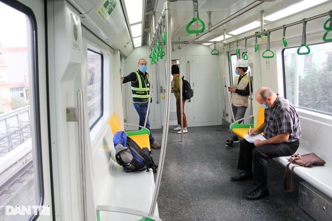 Tiết lộ đầu tiên về kết quả chạy thử nghiệm đường sắt Cát Linh - Hà Đông - 7