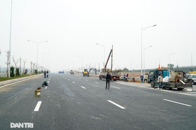 Toàn cảnh nút giao cao tốc hơn 400 tỷ ở Hà Nội trước ngày thông xe - 12
