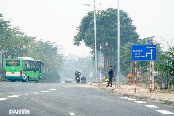 Toàn cảnh nút giao cao tốc hơn 400 tỷ ở Hà Nội trước ngày thông xe - 11
