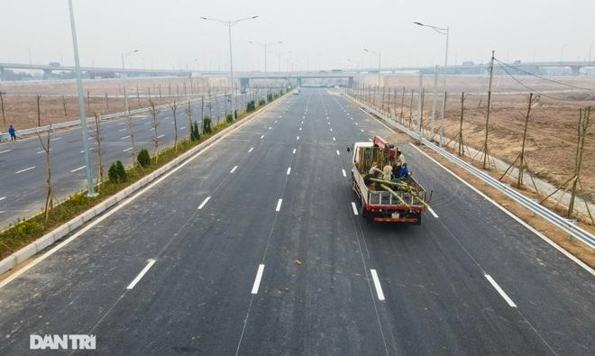 Toàn cảnh nút giao cao tốc hơn 400 tỷ ở Hà Nội trước ngày thông xe - 5