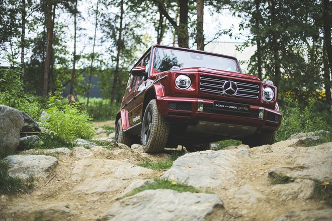 Phiên bản chạy điện của khủng long Mercedes-Benz G-Class trông ra sao? - 2