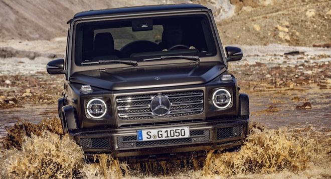 Phiên bản chạy điện của khủng long Mercedes-Benz G-Class trông ra sao? - 1