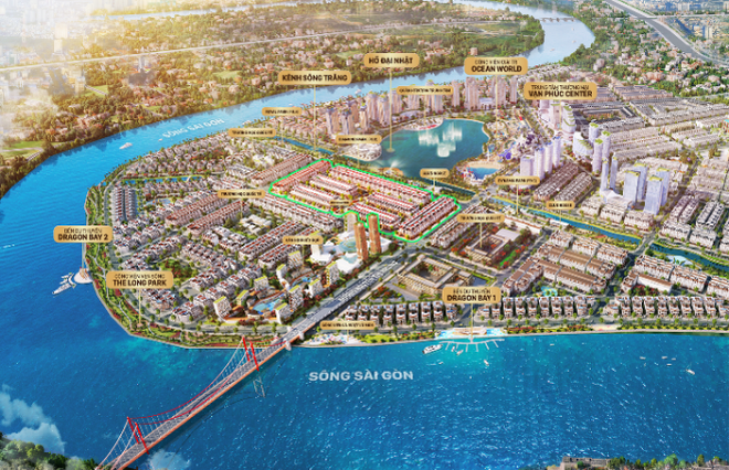 Mở bán giai đoạn 2 Sunlake Villas - Biệt thự bên hồ Đại Nhật - 1