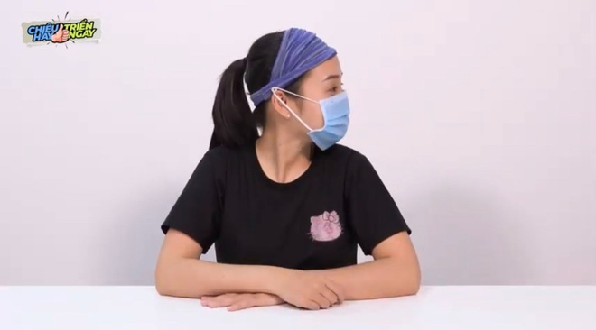 Mẹo hay đeo khẩu trang không đau tai, mờ kính - 4
