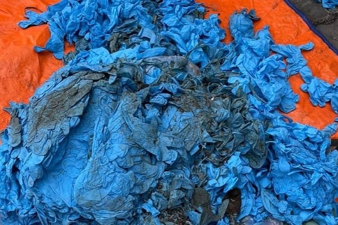 Doanh nghiệp vừa mở mắt đã khai gian, nhập 15 tấn găng tay bẩn Trung Quốc - 4