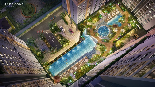 Không gian xanh chuẩn Singapore tại Happy One - Central - 3