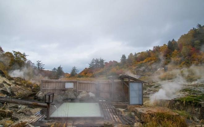 Tắm khoáng nóng, ngắm cảnh mùa đông tuyệt đẹp ở Hachimantai - 3
