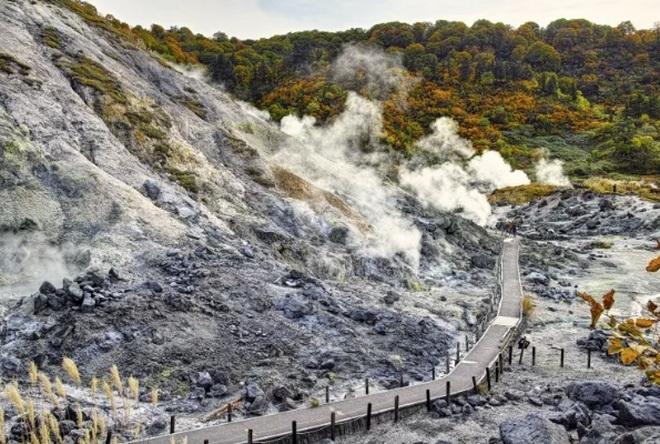Tắm khoáng nóng, ngắm cảnh mùa đông tuyệt đẹp ở Hachimantai - 1