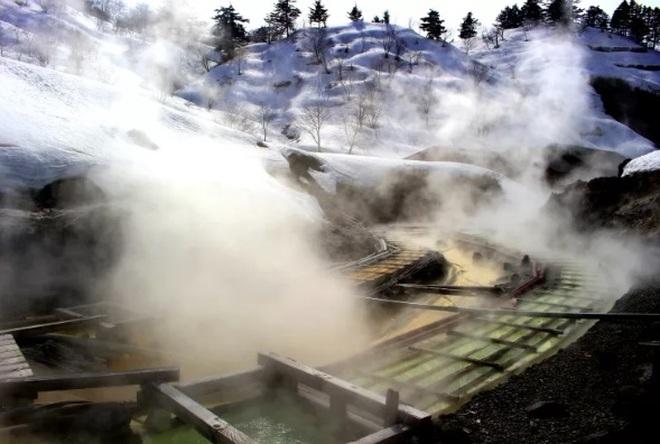 Tắm khoáng nóng, ngắm cảnh mùa đông tuyệt đẹp ở Hachimantai - 5