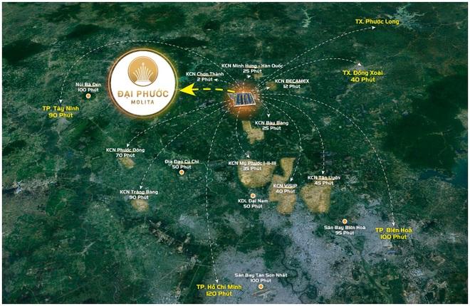 Hạ tầng và tiện ích hoàn chỉnh là chìa khóa hút khách của bất động sản Bàu Bàng - 1