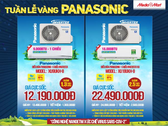 Tuần lễ vàng Panasonic: Mua điều hòa tặng quà đến 2 triệu đồng tại MediaMart - 3