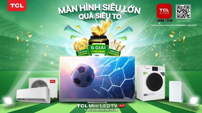 Xem Euro Cup với TV TCL và cơ hội sở hữu biểu tượng bóng vàng 24K - 2