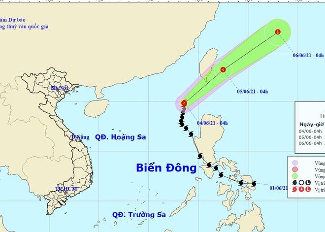 Bão Choi-wan có xu hướng đi ra khỏi Biển Đông - 1