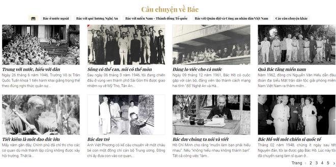 Triển lãm sách trực tuyến kỷ niệm Ngày Bác Hồ ra đi tìm đường cứu nước - 2