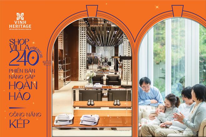 Vinh Heritage gia tăng tiềm năng đầu tư với dòng sản phẩm shopvilla240 Premium - 2