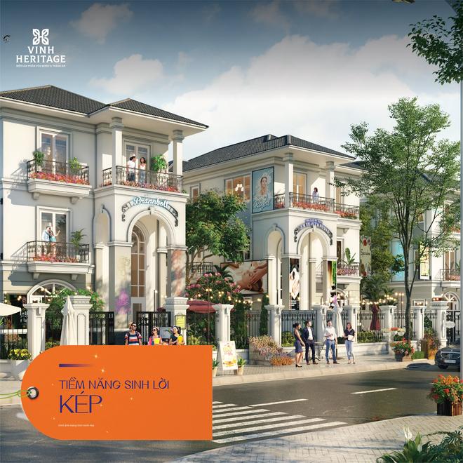 Vinh Heritage gia tăng tiềm năng đầu tư với dòng sản phẩm shopvilla240 Premium - 3