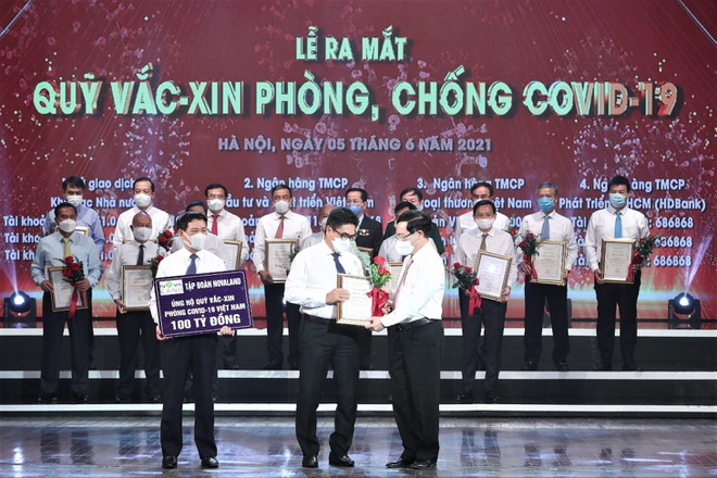 Góp 100 tỷ đồng - Novaland chung tay để người Việt sớm được tiếp cận vắc xin - 2