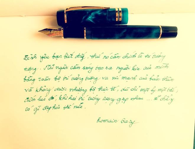 Hoa hậu Thu Thủy và sở thích viết tay trong những ngày tháng cuối cùng - 3