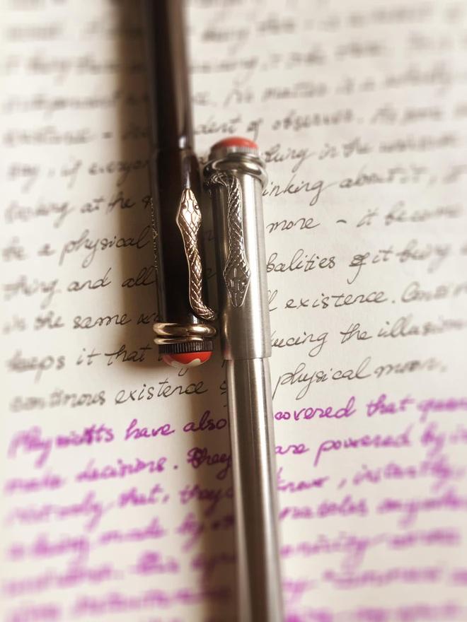Hoa hậu Thu Thủy và sở thích viết tay trong những ngày tháng cuối cùng - 4