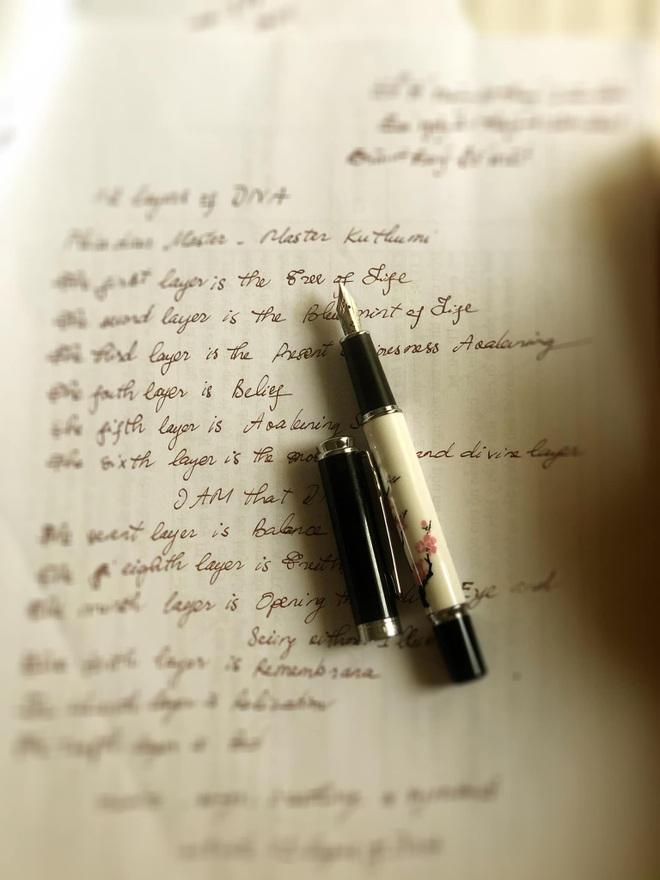 Hoa hậu Thu Thủy và sở thích viết tay trong những ngày tháng cuối cùng - 8