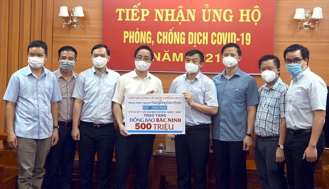Nhóm thiện nguyện Hạt giống tâm hồn hỗ trợ Bắc Giang và Bắc Ninh - 2