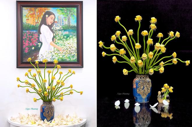Yêu thích hương hoa mùa hạ, cô giáo Hà Nội mang cả đầm sen vào nhà - 8