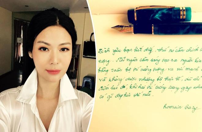 Hoa hậu Thu Thủy và sở thích viết tay trong những ngày tháng cuối cùng - 1