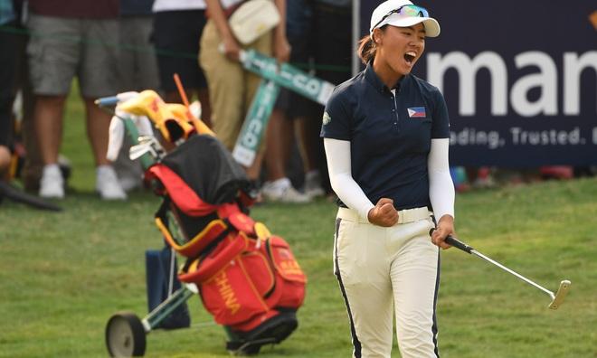 Golfer người Philippines dẫn đầu US Womens Open sau hai vòng đầu tiên - 1
