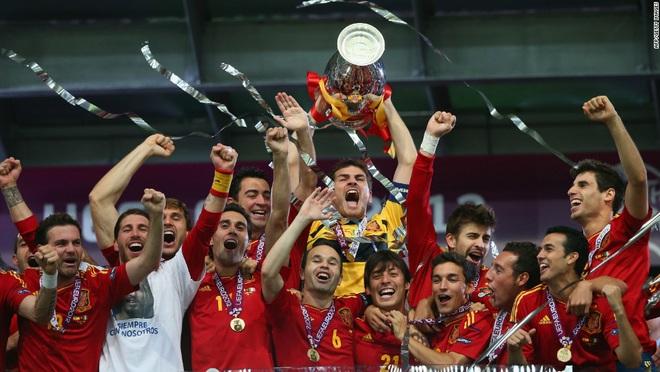 Lịch sử Euro 2012: Tây Ban Nha nhuộm đỏ trời Âu - 1