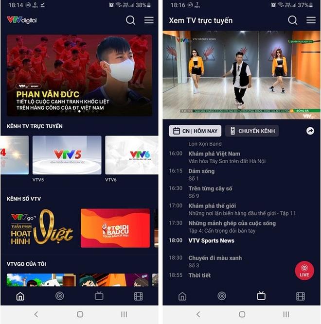 Cách xem trực tiếp đội tuyển Việt Nam thi đấu trên smartphone và máy tính - 3